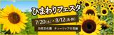 万博記念公園 ひまわりフェスタ|日時:7月20日(土曜日)~8月12日(月曜日・休日)|場所:自然文化園 チューリップの花園