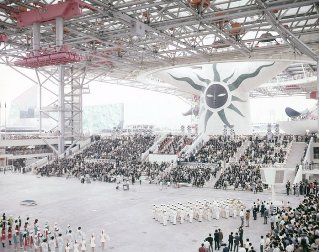 1970年開催日本万国博覧会の式典風景