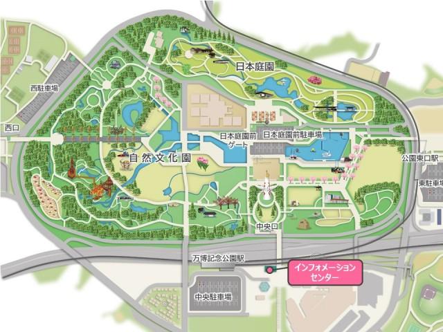 インフォメーションセンター_map