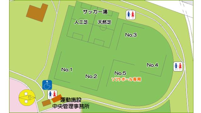 スポーツ広場マップ