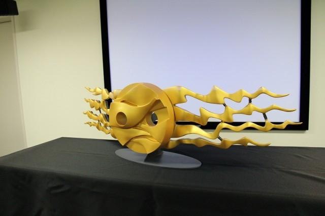 地底の太陽 原型模型①