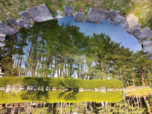 合わせ鏡の絶景