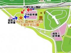ABC HOUSING 千里住宅公園アクセスマップ