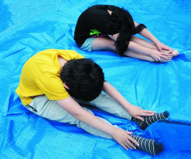 おやこで楽しく学ぶ小学生のための身体の使い方教室
