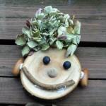 木の実を使った工作