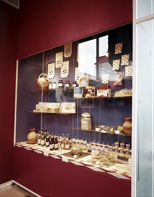 ドミニカの特産品展示