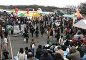 イベントの様子 広場