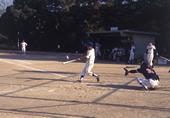 軟式野球プレー風景 3