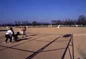 軟式野球プレー風景 2