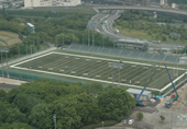 アメリカンフットボール球技場