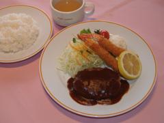 おすすめランチ(スープ・ライス付)