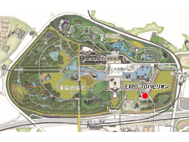 会場マップ_EXPO'70パビリオン