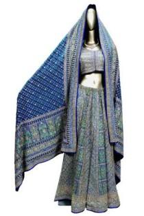 リトゥ・クマールデザインの婚礼衣装