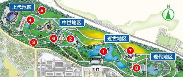 日本庭園マップ